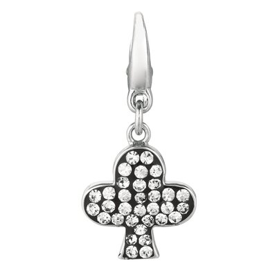 EZ Charms Crystal Club Charm with Swarovski Elements
