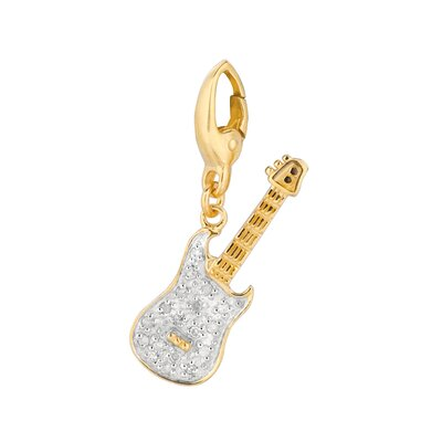 EZ Charms Diamond Guitar Charm