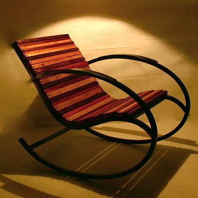 Shiner International Lumberyard Rocking Chair