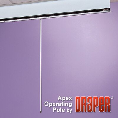 Draper 6' Aluminum Operating Pole for Apex