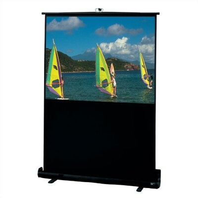 "Draper Matte White Traveller Portable Screen - 46 1/2"" diagonal 15:9 Ratio Format"