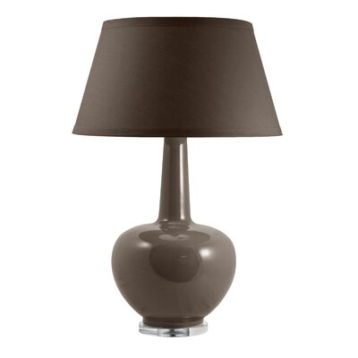 Lamp Works Porcelain Urn Table Lamp in Taupe