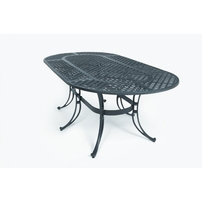 Three Coins Tables Oval Patio Table