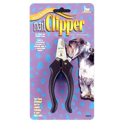 J.W. Pet Company Deluxe Soft Grip Nail Clipper for Dogs