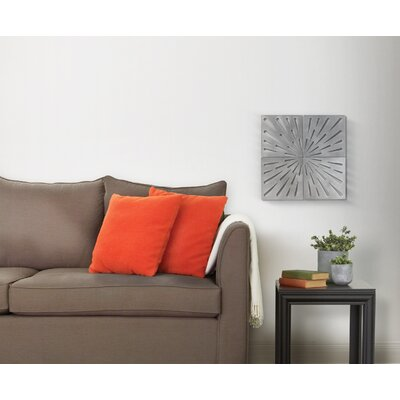 Umbra Burst Wall Art in Gun Metal (Set of 4)