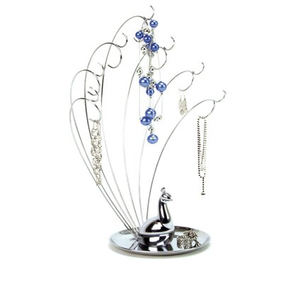 Umbra Peacock Metal Jewelry Stand