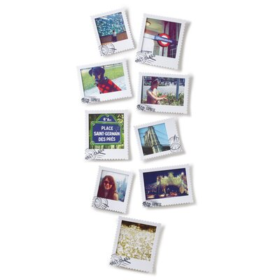 Umbra Postal Wall-Mount Picture Frames (Set of 9)