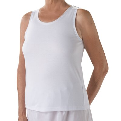 Silvert's Womens Snap Open Back Undervest