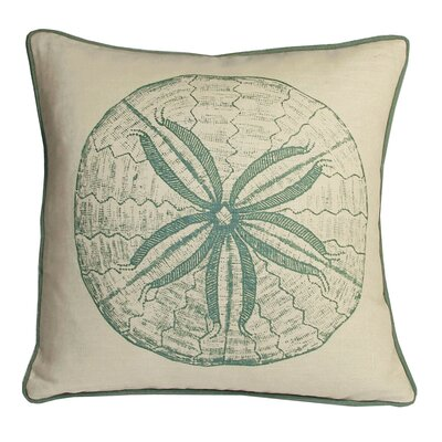 Kevin O'Brien Studio Sand Dollar South Pacific Decorative Pillow