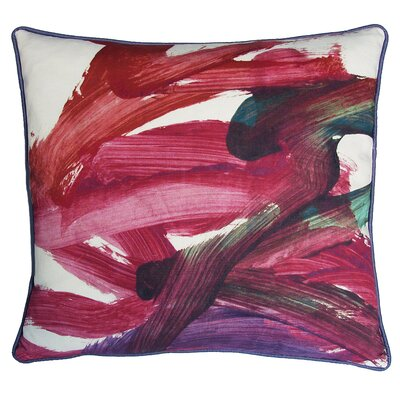 Kevin O'Brien Studio Fingerpaint Decorative Pillow
