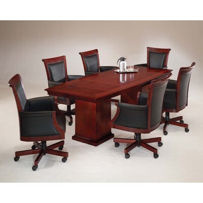 DMI Office Furniture Del Mar 8' Boat Top Conference Table