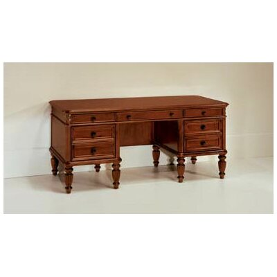 Antigua Executive Desk with 7 Drawers