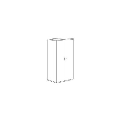 DMI Office Furniture Pimlico Laminate Double Wardrobe/Cabinet