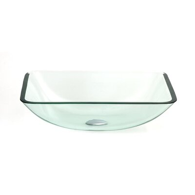 Glass Sink Vessel Bathroom Sink - DLBG-17