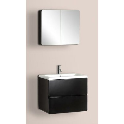 "Dreamline 23.63"" Wall Mounted Bathroom Vanity Set"