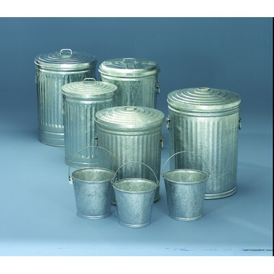 Witt 10 Gallon Medium Duty Galvanized Tapered Side Lids