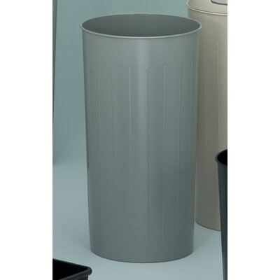Witt Metal Series Tall 20 Gallon Round Waste Baskets (Set of 3)