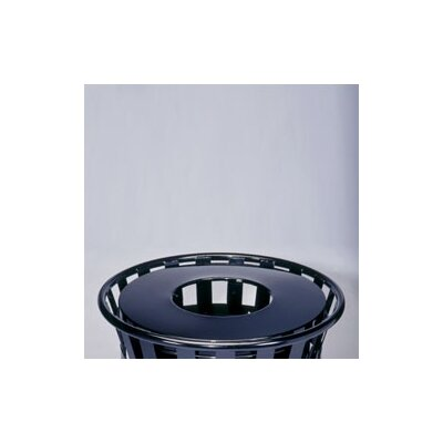 Witt Stadium Series SMB Round Ring 36 Gallon Receptacle with Flat Top Lid