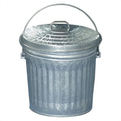 Witt 10 Gallon Medium Duty Galvanized Tapered Side Pail