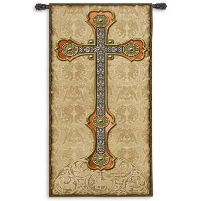 Fine Art Tapestries Vertical Cross Tapestry