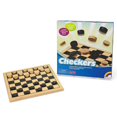 Intex Wooden Checkers