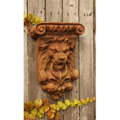 OrlandiStatuary Lion Mascot Bracket Wall Decor