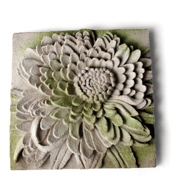 OrlandiStatuary Chrysanthemum Plaque Wall Decor