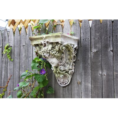 OrlandiStatuary Vendemmia Wall Planter