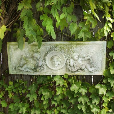 Cherub Victorian Plaque Wall Decor