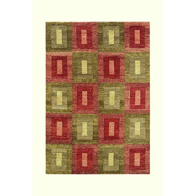 Noble House Legacy Green/Rust Rug