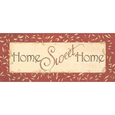 Comfort Plush Home Sweet Home Doormat