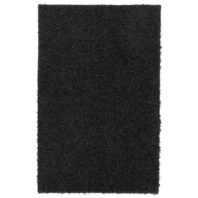 Mohawk Select Super Texture Shag Black Solid Rug