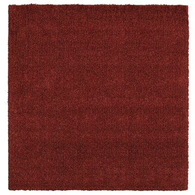 Mohawk Select Super Texture Shag Brick Red Meadowland Rug