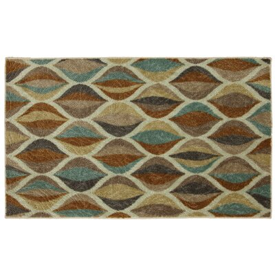 Mohawk Select Canvas Multi Ornamental Ogee Rug