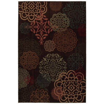 Kaleidoscope Dark Brown Sienna Rug