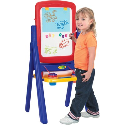Grow 'n Up Crayola Qwikflip 2-Sided Easel