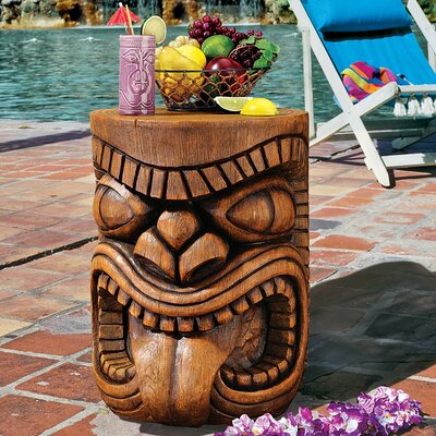 The Grand Tiki Tongue Sculptural Side Table