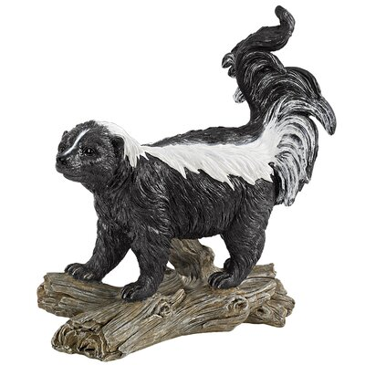 Stinky The Striped Skunk Statue