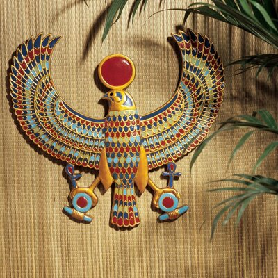 Design Toscano Horus Egyptian Wall Plaque