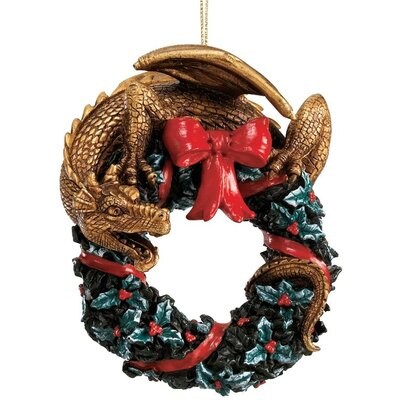 Design Toscano Twist and Twirl Dragon Ornament