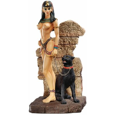 Egyptian Panther Goddess Sculpture