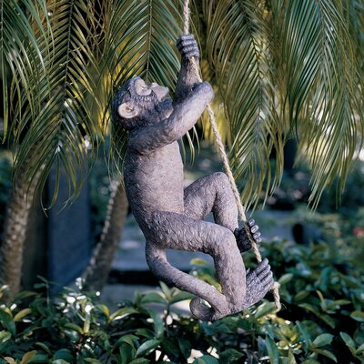 Makokou The Climbing Monkey Statue