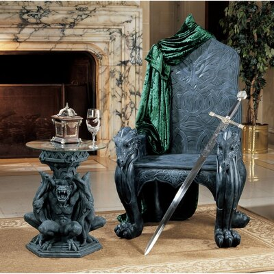 Design Toscano Celtic Dragon Throne Arm Chair