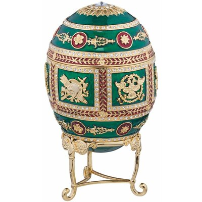 The Emerald Collection Faberge-Style Enameled Redonka Egg