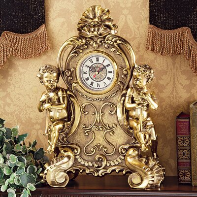 Design Toscano Saint Remy Cherub Clock