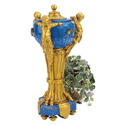Design Toscano The Carlisle Cherubs Centerpiece Urn (Set of 2)