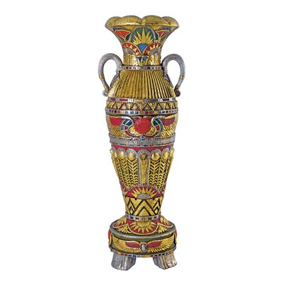 Design Toscano Temple of Luxor Grand-Scale Egyptian Urn Statue