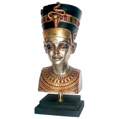 Egyptian Queen Nefertiti Statue on Museum Mount
