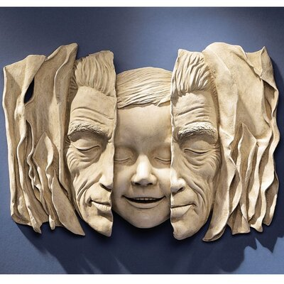 Design Toscano Child at Heart Wall Sculpture