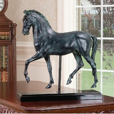 2 Piece Classical Horse Study Sculpture